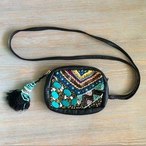 Ecote colorful beaded purse